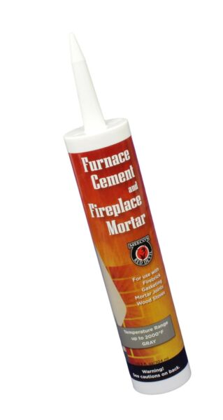 MEECO#x27;S RED DEVIL 121 Furnace Cement and Fireplace Mortar Gray $16.24