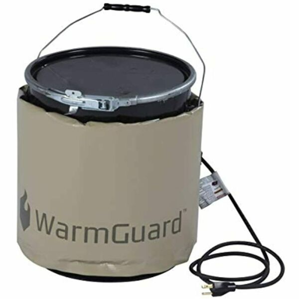 WG05 Insulated Pail Band Heater - Bucket Heater Fixed Internal Thermostat Max
