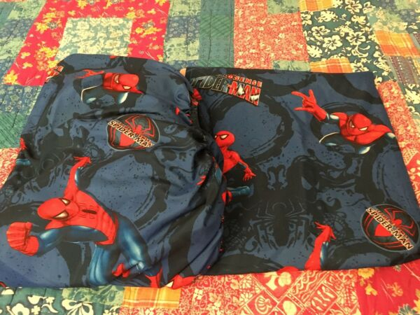 Spiderman Spider Sense Marvel 100% Polyester Twin Fitted Flat Sheets Jay Franco