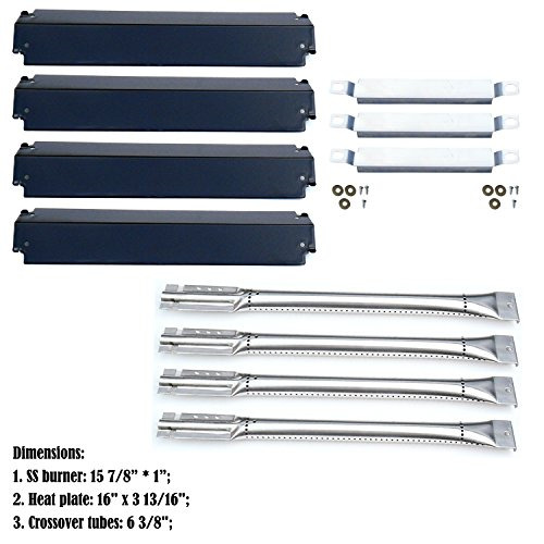 Direct store Parts Kit DG101 Replacement Charbroil Gas Grill BurnersHeat Plates