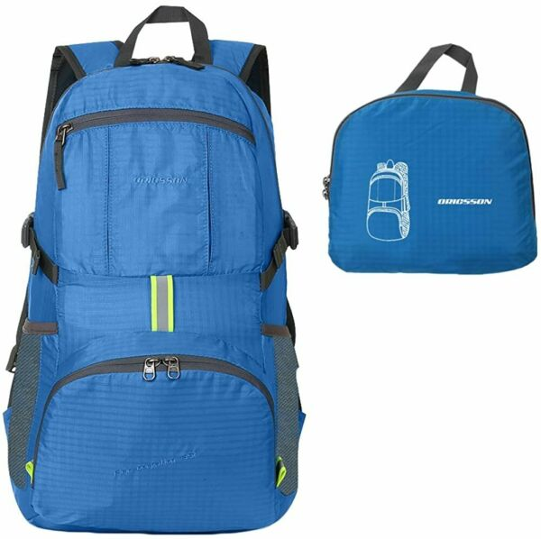 ORICSSON Unisex Rated 35L Durable Lightweight Foldable Backpack Waterproof Handy