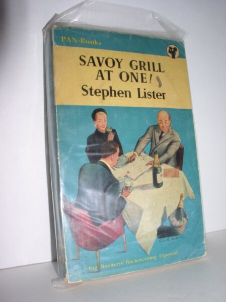 Savoy Grill At One by Stephen Lister Pan Books #243 1953