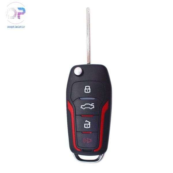 One Upgraded Flip Remote Key Fob 4D63 chip For 2005-2013 Ford Mustang CWTWB1U331