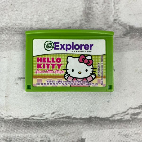 Leapfrog Leapster Explorer Game HELLO KITTY Leap Pad 2 3 GS XDi Ultra  $11.39