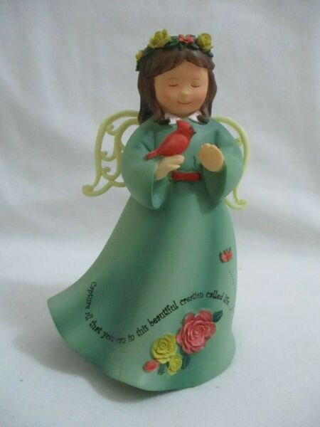 Ella Bella 4 1 2quot; ceramic angel figurine