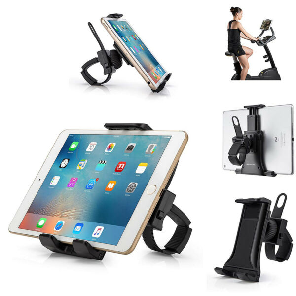 Indoor Cycling Bike Mount Tablet Cell Phone Holder Bracket Stand For Stationary $7.43
