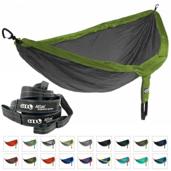 ENO Hammock Jungle Bushcraft Survival DoubleNest 400 lbs SUSPENSION SYSTEM GBP 77.75