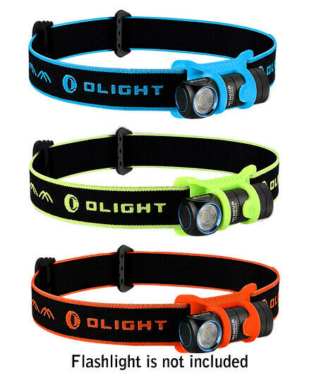 Olight Head Band for H1 & H1R Headlamp Available in Blue Green or Orange NEW $16.95