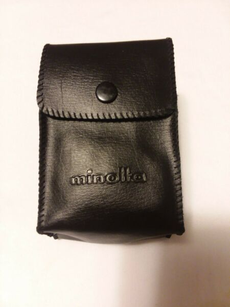 MINOLTA FLASH UNIT AUTO 200X FOR PARTS With Case Not Tested $13.00