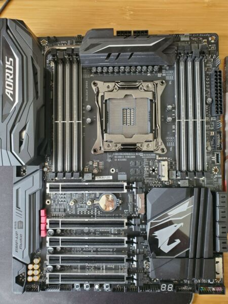 X299 Aorus Gaming 7 Used Fully Functional