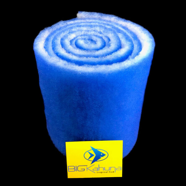 10 FT ROLL BLUE BONDED AQUARIUM FILTER MEDIA PAD 12quot; X 10#x27; FREE SHIPPING $10.95