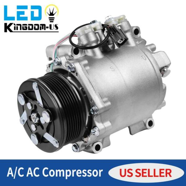 New AC AC Compressor With Clutch Fit For 2002-2006 Honda CRV VR-V 2.4L $125.00