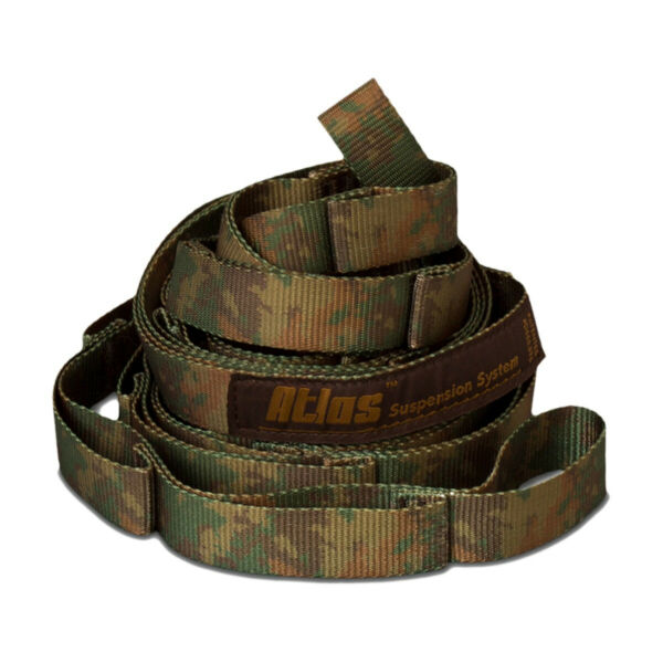 ENO Suspension System Hammock Tree Straps Camo Atlas Doublenest Single Camping $28.00