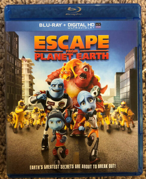 Escape From Planet Earth (Blu-ray Disc 2013 Includes Digital Copy) $4.99
