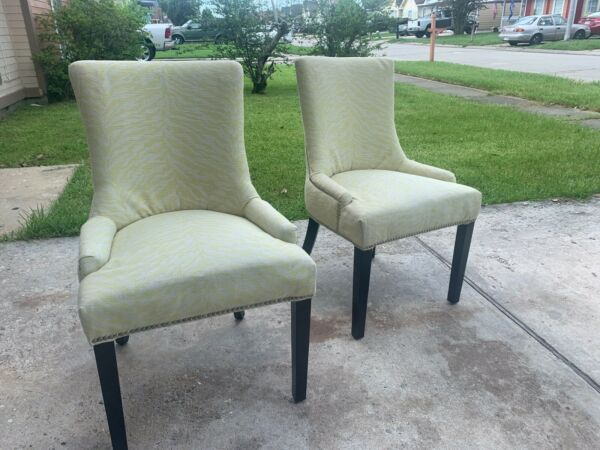 yellow accent chair set of 2 living room