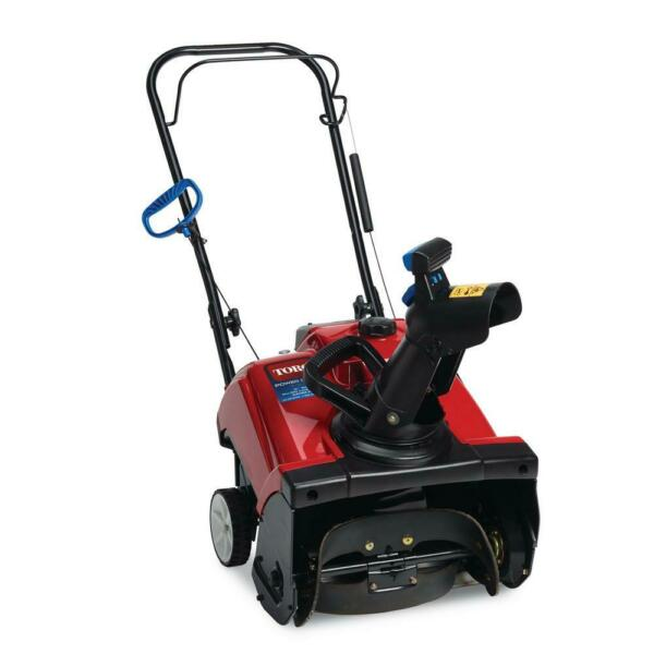 Toro Gas Snow Blower 18 in. 99cc Single Stage Paved Variable Speed Manual Start