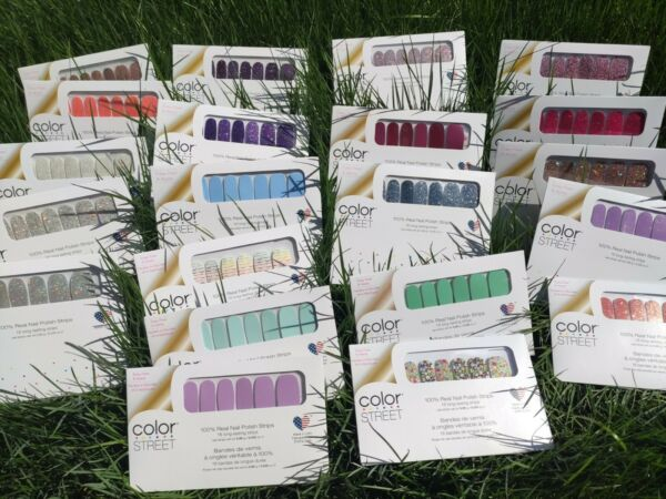 Color Street Nail Strips Free Shipping w Tracking on all orders Mon Restocks