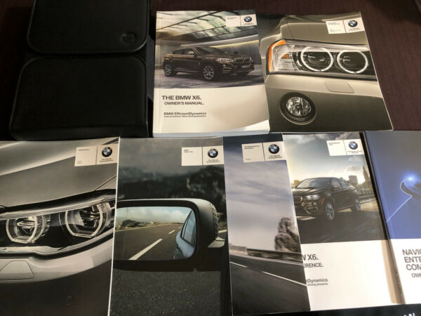 2017 BMW X6 Owners Manual