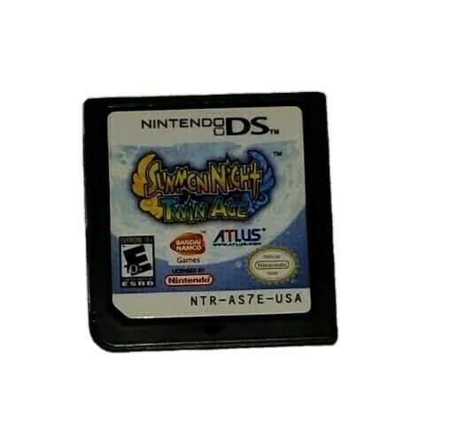 Summon Night: Twin Age Nintendo DS Game Game CARTRIDGE Only