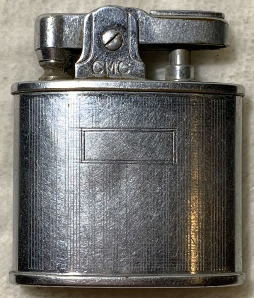 VINTAGE CMC Continental Standard AUTOMATIC SILVER LIGHTER costume collectible  $16.00