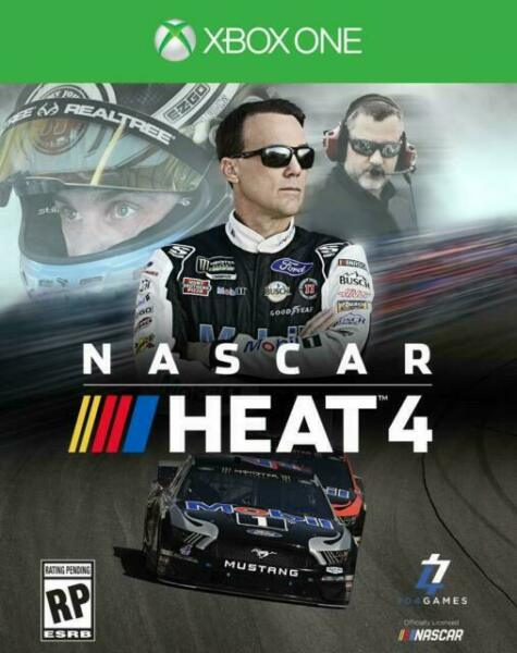 NASCAR Heat 4 Xbox One Physical Disc NEW FREE US SHIPPING $19.99