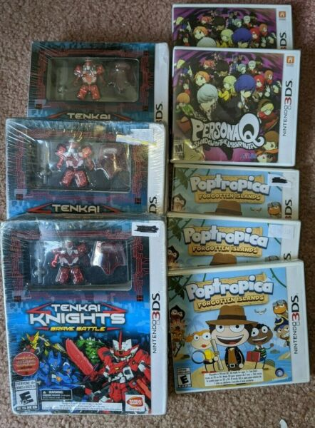 NEW nintendo 3ds game you pick your title persona q poptropica tenkai nights