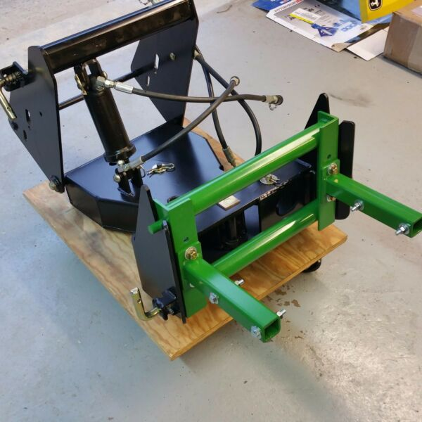 CUSTOM De Thatcher Bracket fits John Deere Quick Hitch X700 series amp; X400 series