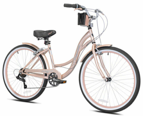 🔥 Kent 26quot; Bayside Women#x27;s Cruiser Bike Rose Gold 🔥BRAND NEW FREE SHIPPING $199.99
