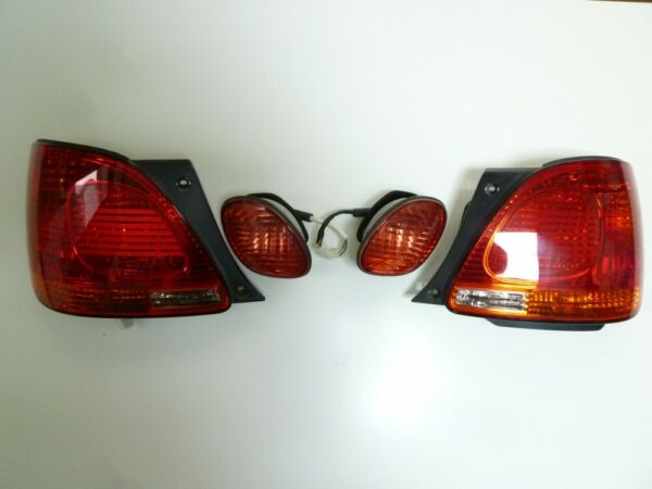 Used Genuine Toyota 98-05 ARISTO Lexus GS300 GS400 GS430 Tail Lights Lamps FS