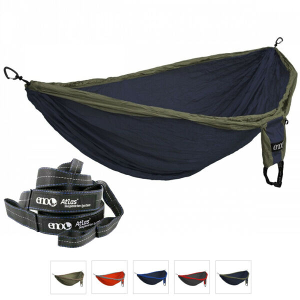 ENO Hammock Military Survival Camping Double Deluxe 400lbs Suspension System GBP 109.45