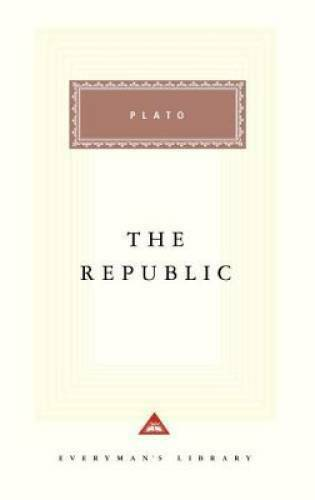 The Republic Everyman#x27;s Library Cloth Hardcover By Plato VERY GOOD