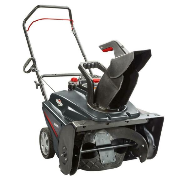 Briggs and Stratton Gas Snow Blower Thrower Single Stage 22 in. 208cc Recoil