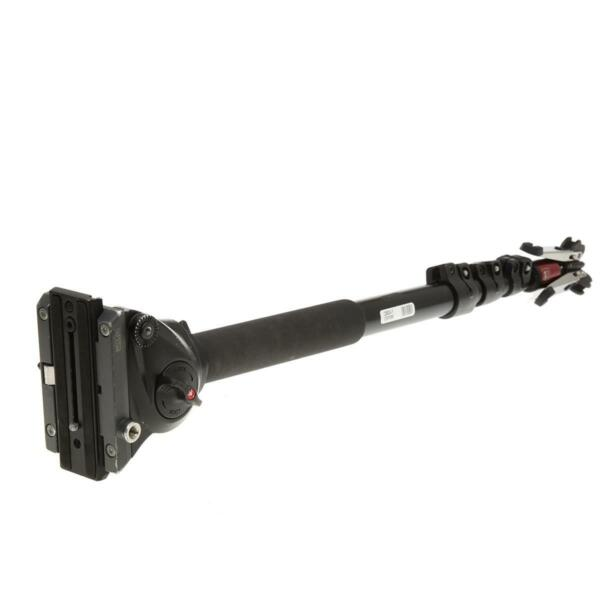 Manfrotto MVM500A Aluminum Fluid Monopod with 500 Head SKU#1296534
