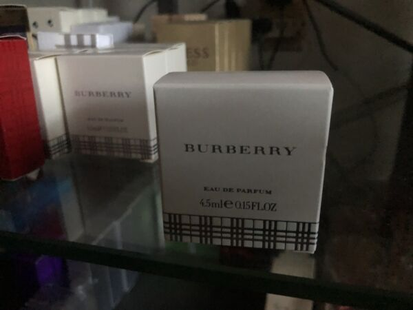 Burberry Perfume By Burberry for Women 0.17 oz Mini Eau De Parfum Splash $14.99