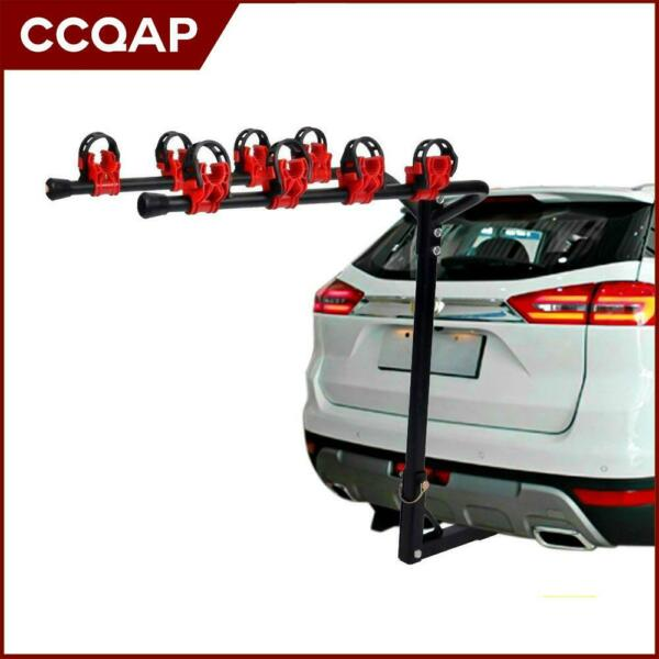 4 Bike Rack Bicycle Carrier Hitch Receiver Heavy Duty 2 Mount Cars Trucks SUV $75.99
