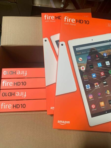 New Amazon Fire HD 10 Tablet 9th Generation 2019 32GB Wi Fi10.1#x27;#x27; White