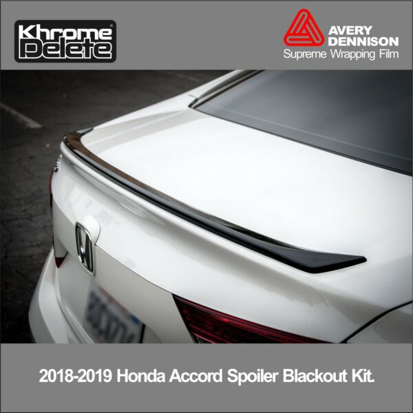 2018 2019 Honda Accord Sedan Rear Spoiler Blackout