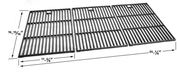 Replacement Cast Grates For Nexgrill 720 0419720 0459810 4655 0PFISLP Models