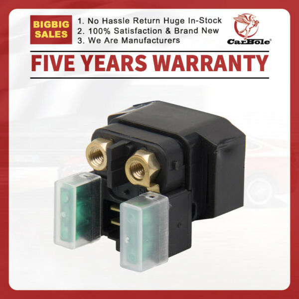 Starter Solenoid Relay for YAMAHA ATV GRIZZLY 660 YFM660 2002 2003 2004 to 2008 $9.99