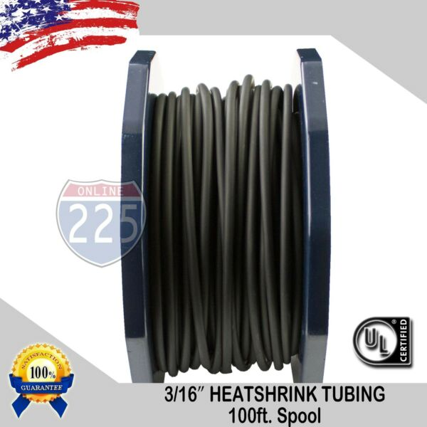 Heat Shrink Tubing 2:1 Marine Grade Wire Cable Adhesive Lined Tube 100FT 3 16quot; $8.59