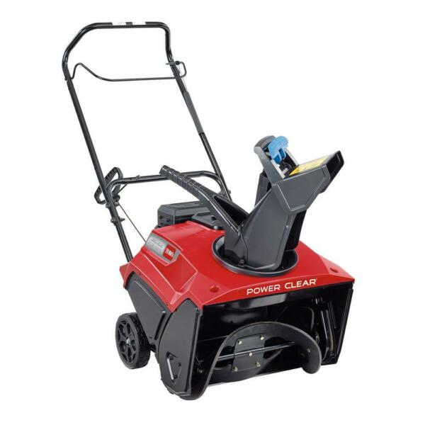 Toro Gas Snow Blower 21 in 212 cc Commercial Plastic Single Stage Self Propelled