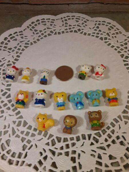 Squinkies Hello Kitty amp; Friends Sanrio lot of 14 mini figures x3