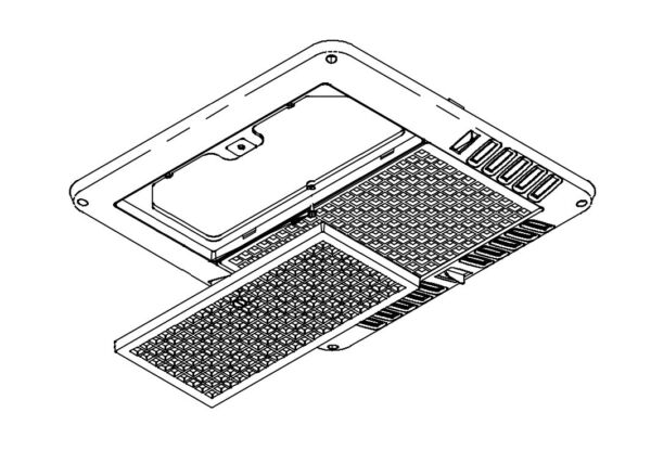 Coleman Mach Air Conditioner Ceiling Assembly Grille 8330C5731 $94.41