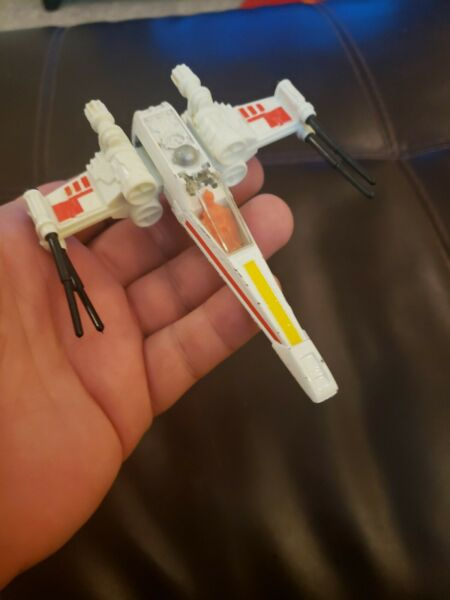 Vintage Star Wars Die Cast X Wing Fighter 1978 Kenner Original Nice