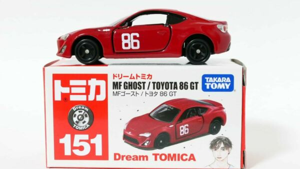 NEW Takara Tomy Dream Tomica No.151 MF Ghost Toyota 86 GT Red mini car