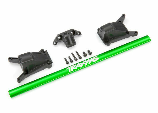 NEW TRAXXAS LCG GREEN CHASSIS BRACE KIT. 4X4 SLASH RUSTLER. PART# 6730G