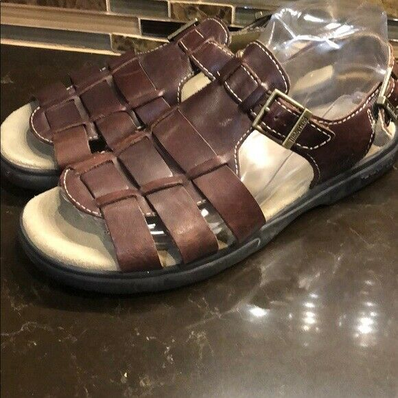 Timberland Sandals brown open toed $45.76