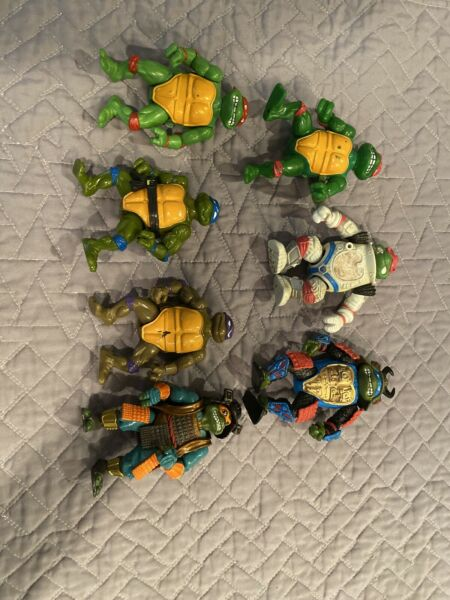 teenage mutant ninja turtles lot Vintage