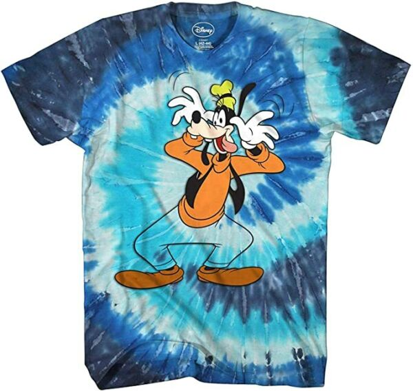 Goofy Washout Tie Dye Disneyland World Retro Classic Vintage Tee Shirt New $17.99