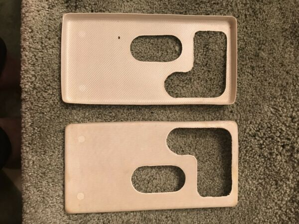 FIBERGLASS BATTERY COVERS 2 INFRARED SNIPERSCOPE M 2 M 3 CARBINE A PAIR